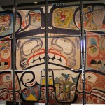 Contemporary First Nations art, photo by Kelly