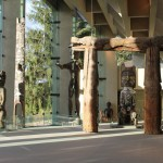 Museum of Anthropology, main hall, photo by Kelly