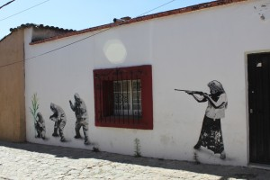 oaxaca - gm corn wall stencil
