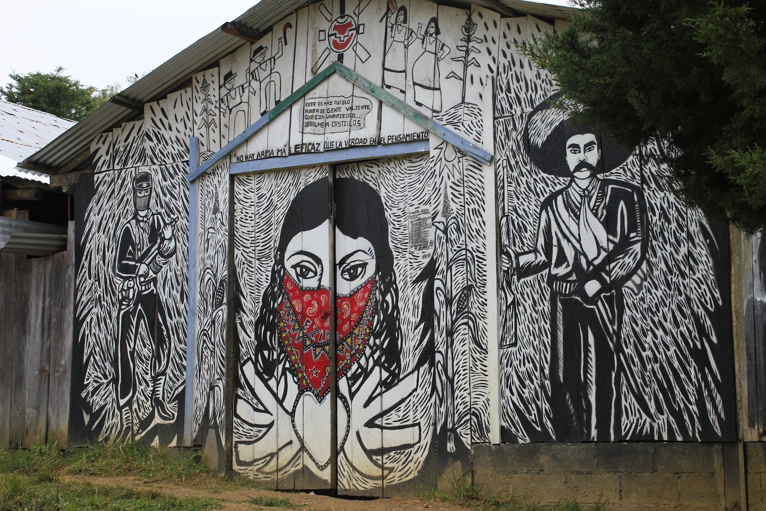 Mural zapatista my next film inspiration pinterest for Mural zapatista
