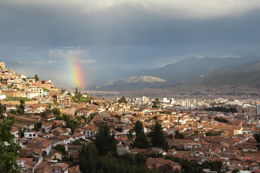 Peru - view over Cusco