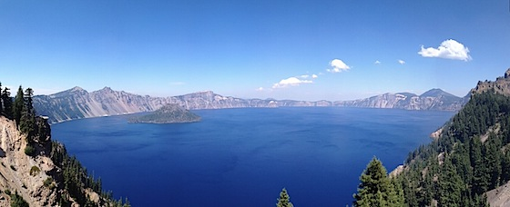Photo taken at Crater Lake National Park, Oregon, by Udi summer 2011