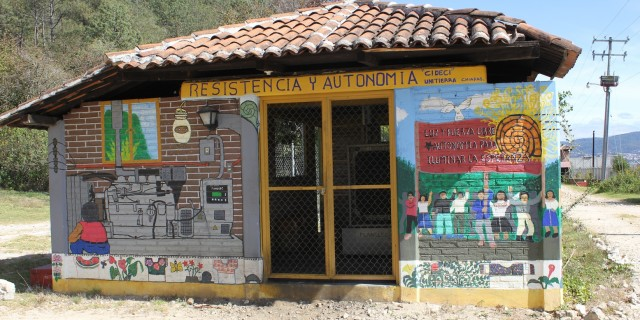 Visiting another Unitierra – in San Cristobal, Chiapas