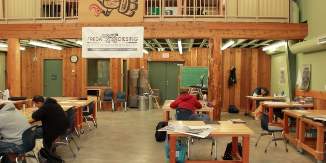 Freda Diesing School of Northwest Coast Art, an overview